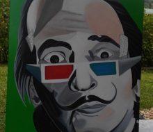 S.Dali autoportrait 100x90cm