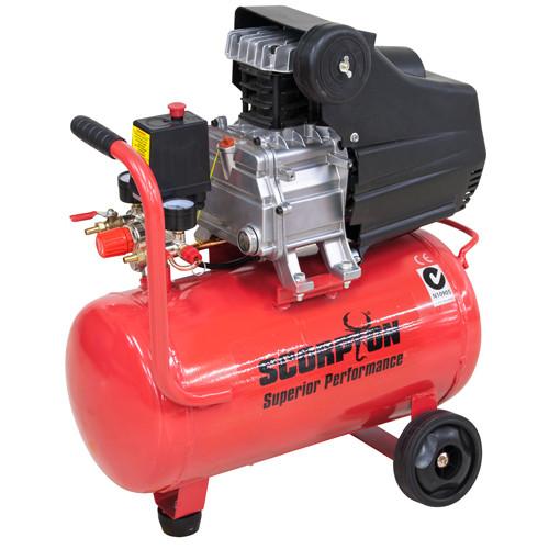 Compressor air direct 2hp 24L scrorpion