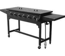 BBQ 6B Solid top w folding sides jumbuck