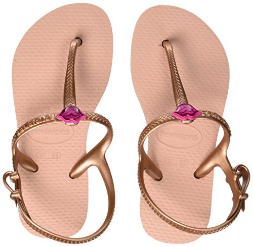 Havaianas Thong kids freedom print ballet rose