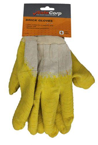 safecorp brick gloves