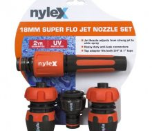 Nylex 18mm super flo jet nozzle set