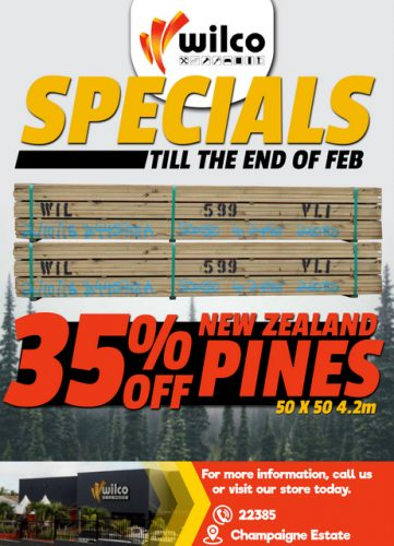 Wilco NZ Pine Jan19